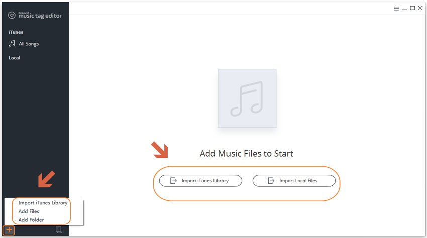 add itunes library