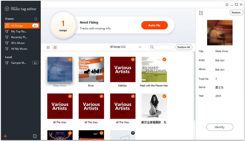 add music library