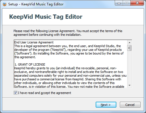 install keepvid music tag editor