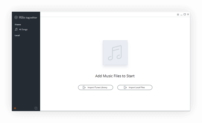 Import your music library
